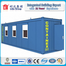 Lida brand prefab shipping prefab weld container house