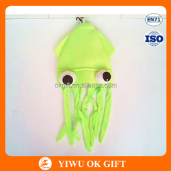 Green funny carnival crazy hat party ideas of squid hat