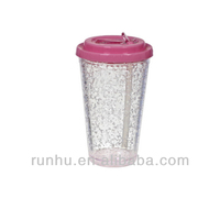 lighting diamond plastic cup