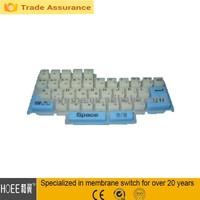 slim qwerty rubber keyboard small computer keypad keyboard