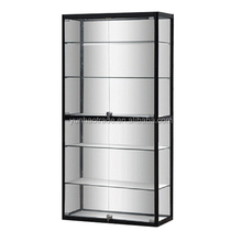 Modern Design Lockable Glass Display Cabinets for showcase