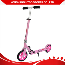 Easy folding 200mm wheels adult kick scooter