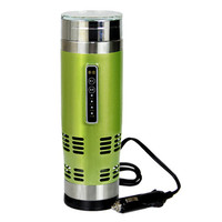 16oz 12v Electric Heated Coffee Mug For Car And Computer double freeze mug fruit infuser water bottle