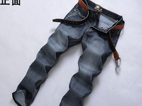 New arrived free shipping custom made logo cotton high quality pantalones jeans