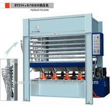 Solid wood pressing machine plywood hot press machine