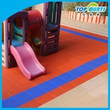 Kindergarten playground indoor/outdoor flooring