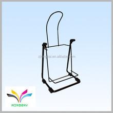 Fixable rear vertical portable small size bike racks