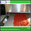 Industrial red chilli spice powder microwave drying sterilization machine