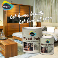 Free Samples KINGFIX two pack wood furniture paint