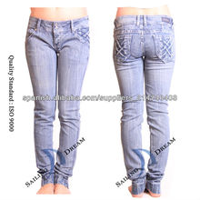 mujeres <span class=keywords><strong>jeans</strong></span> ajustados(pj13116-w)
