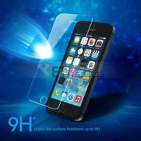 New Discount 9H Anti-fingerprint Tempered Glass Screen Protector for iPhone 5 5S 5C