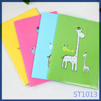 Free sample cute simple style new products on china market promotional colorful for kids all kinds of notebook