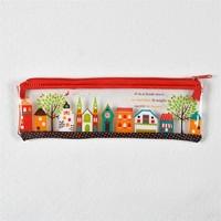 2015 promotional Plastic Pen Bag/ School Pencil Cases