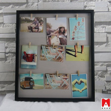 2015 new plastic photo frame grooming dog