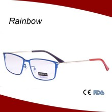 2015 designer glasses from china with thin temple match all face shape eyewear