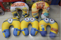 TF-G03150803066 2015 hot sell minion despicable me U-shape pillow neck pillow