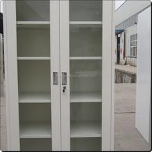 fine design medicine cabinet / steel sliding glass display cabinet