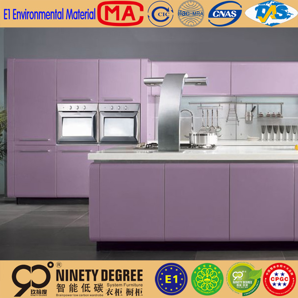 Purple Painting Kitchen Cabinet K110  Buy Painting Kitchen Cabinet