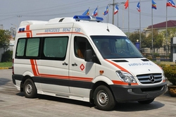 china ambulance car for sale with low price