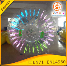 Customized inflatable zorb balls , inflatable rolling ball , baby zorb ball for sale