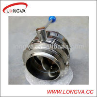 6 stainless steel butterfly valve 3 piece manufacturer