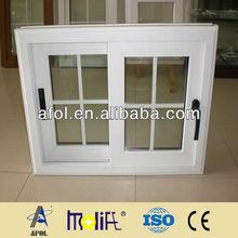 بولي كلوريد الفينيل النوافذ afol تشجيانغ، التعريف البلاستيكية النوافذ والأبواب المنزلقة، نافذة جديدة تصميم شواء