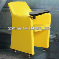 Fully Fabric or Bonded Leather Movable Sofa Chair with Tablet