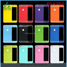 Fashion Color Skin Sticker For iPhone 6 4.7'', For iPhone 6 Plus Full Body Skin Sticker