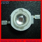 Red color 3w 630nm led 620nm-630nm deep color 650-660nm available & chip 3w 630nm led(100% waranty,ROHS CE,3 years waranty)