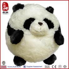 Import toys from China manufacturer fluffy animal panda cushion