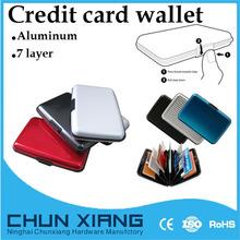 completa de aluminio de impresión de tarjetas de crédito cartera en ningbo