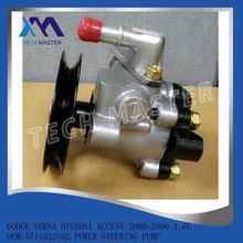 HOT SALE AUTO PARTS DODGE VERNA HYUNDAI ACCENT 2000-2006 1.6L OEM:5711022502 GENUINE BRAND NEW POWER STEERING PUMP