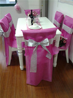 disposable chair cover for banquet, wedding decoration materials