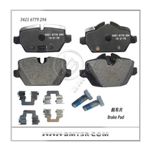 High quality rear brake pad auto parts dealers for BMW / Mercedes Benz / Landrover