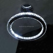hot selling ring shaped led ring pendant lamp , crystal lamp,led ring lamp