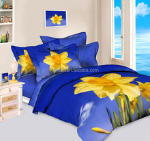 3D colorful flower bed sheets