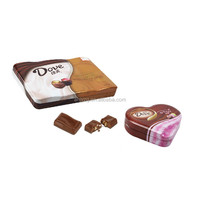 OEM herbal tea gifts personalized tins with hinged lid wholesale