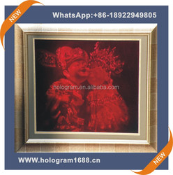hot sale high quality PET 3d art packaging for wedding made in china