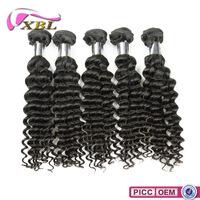 XBL New Arrival 8A Mink Deep Wave 100 Percent Remy Brazilian Hair Weaving