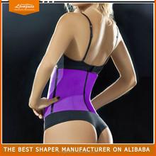 black Top selling steel boning underbust corset waist training fitness leather corset