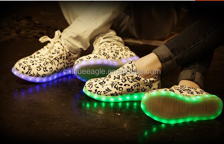 Adidas Con Luces En La Suela