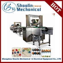 The Most Novel mix fruit pop lollipop making packing/wrapping machine with best service