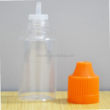 Dropper bottle for nicotine oils, nicotine oil bottle with childproof cap, ejuice bottle 10ml with long thin tip