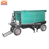 removable hydraulic steel platform