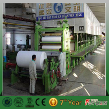 Fuyuan brand A4 office copy paper production line with cheap price for sale