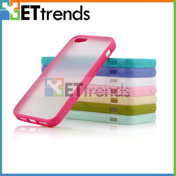 Stylish mobile cover for iphone 5 5s, pc tpu mobile accessories wholesale