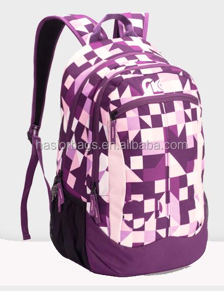 Wholeasle custom solide et imperméable sacs à dos sacs pour les étudiants