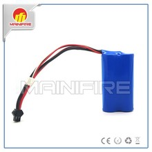 Wholesale 7.4v lithium ion 18650 rechargeable battery packs
