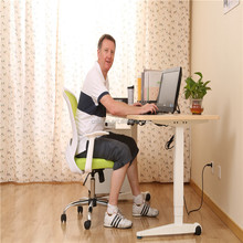 Wholesale Contracted type electric/manual desk adjust height