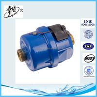 DN 15 DN 20 Volumetric Rotary Piston Liquid Sealed Screw end Volumetric water meter